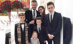 ส่องภาพความอบอุ่นของครอบครัว เดวิด เบ็คแฮม ผู้ชายในฝันของสาวทั่วโลก