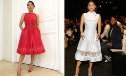 พระองค์หญิงสิริวัณณวรีฯ ทรงสง่างาม ในชุดผ้าไหมไทย ที่ปารีส แฟชั่นวีค