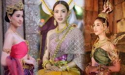ดาราใส่ชุดไทย งดงามประหนึ่งนางสงกรานต์