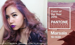 Marsala Hair Color of the Year 2015 by ToB1 Hair Station