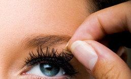 ระวัง! อันตรายจากการใช้ขนตาปลอม ภัยร้ายที่มาพร้อมความสวย