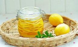 มะนาวดองน้ำผึ้ง ลดน้ำหนักได้จริงหรือ?