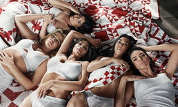 สาวๆ 'คาร์เดเชียน-เจนเนอร์' อวดเอวเอสถ่ายแบบชุดชั้นใน ภายใต้แคมเปญ #MyCalvins