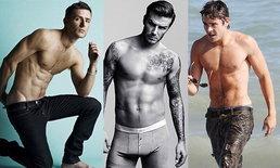 25 อันดับผู้ชายเซ็กซี่ ที่สุดในโลกปี 2012