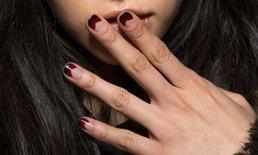 รวมไอเดียแต่งเล็บ Black & Red Nails สวยดุปนกันไป
