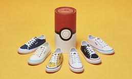ออกใหม่ไม่หยุด  รองเท้าผ้าใบ Fila x Pokemon เอาใจสาวกโปเกม่อนสุดๆ