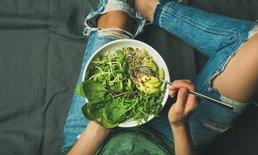 ประโยชน์ของผักใบเขียว กินลดอาการปวดประจำเดือนได้