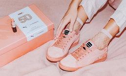 PUMA x MAC ทำรองเท้าผ้าใบสีแมตช์กับลิปแมค แซบมาก!