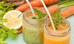 น้ำผักปั่น ตัวช่วยลดน้ำหนักที่ไม่ร้ายต่อสุขภาพ
