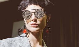 ดีไซน์เหนือระดับ Giorgio Armani D'ARTISTE แว่นกันแดดเลนส์ดอกไม้