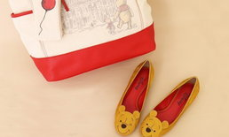DIANA ส่งรองเท้า Winnie The Pooh ฉลองครบรอบ 40 ปี และต้อนรับหนังใหม่ Christopher Robin