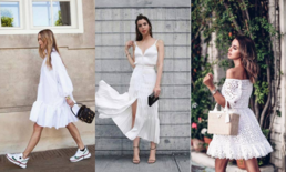 "White Dress รวมแฟชั่น ""เดรสสีขาว"" เรียบง่ายแต่หรูหรา"