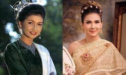 """สวยไม่เปลี่ยน """"แอน สิเรียม"""" ย้อนอดีต 24 ปี แต่งชุดไทย แม่มณีจันทร์ จาก ทวิภพ"""