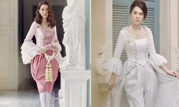 """เมื่อ """"เมย์ เฟื่องอารมย์"""" สวมชุดไทยประยุกต์สุดคลาสสิคแบบจัดเต็ม"""