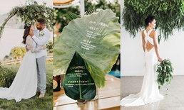 20 ไอเดียจัดงานแต่งเก๋ๆ ด้วยพร็อพจากธรรมชาติ ตกแต่งง่าย ดูโรแมนติกได้ด้วย
