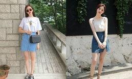 ส่องแฟชั่นกระโปรงของสาวเกาหลี แต่ละสไตล์คือน่ารักมากจริงๆ