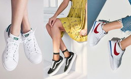 """ชี้เป้า 7 แบรนด์ """"รองเท้าผ้าใบ"""" สุดฮิตที่สาวๆ ควรมีไว้ในกรุ"""