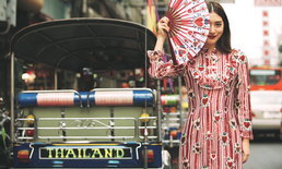 """""""มิว นิษฐา"""" อวดแฟชั่นแดงรับเทศกาลตรุษจีน คอลเลกชั่น Disaya x Mew Nittha"""