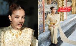 ใบเตย ในชุดไทยศิวาลัยประยุกต์ งดงามทั้งหน้า ทั้งชุด