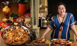 """ข้าวผัดสเปนสูตรเด็ดที่ต้องขอนิยามว่าเป็น """"เมนูอร่อยที่สุดในปฐพี"""" ของ """"ภาสนี กรศรีทิพา"""""""