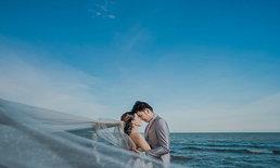 """ลุ้นถ่ายพรีเวดดิ้งริมทะเลสวยที่พักเริด กับ """" WE on the  Beach #4 """""""