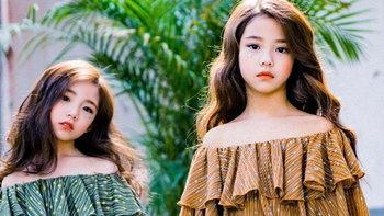2 สาวน้อยนางแบบ สุดน่ารัก ที่เห็นแล้วต้องใจละลายยย เพราะโครงหน้าสวยตั้งแต่เด็กเลยล่ะ!