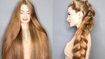 ผมร่วงจนหัวล้าน สาวรัสเซียวัย 23 ปี เปลี่ยนผมเสีย ให้เป็นผมสวย