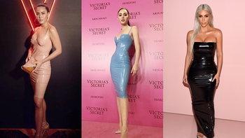 """ใครเจิด ใครจบ? ส่องตัวแม่แห่งความมั่น สวม """"Latex Dress"""" แบบใหม่ ดาวิกา"""