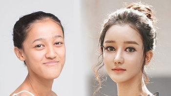 """เปลี่ยนสาวคางยื่นเป็นสาวหน้าลูกครึ่ง """"ด้า ธันยนันท์"""" Let me in Thailand ซีซั่น 3"""