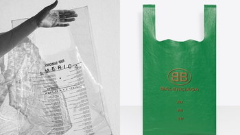 """รวมกระเป๋าแบรนด์เนมราคาแรงที่ได้แรงบันดาลใจมาจาก """"ถุงก๊อบแก๊บ"""""""