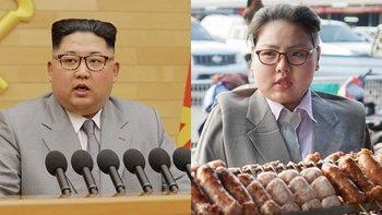 """ขำจนต้องร้องขอชีวิต """"ทราย เบญจพร"""" แต่งคอสเพลย์ล้อเลียนผู้นำเกาหลีเหนืออีกครั้ง"""