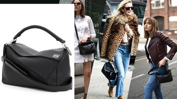 """Puzzle Bag"" กระเป๋าหนังสีดำ สุดคลาสสิก ที่ฮอตที่สุดในตอนนี้"