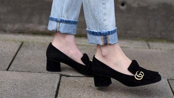 """""""Mid Heels"""" รองเท้าส้นตันใส่ยังไงไม่ดูป้า"""