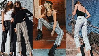 Striped Pants กางเกงลายทางแบบนี้ใครใส่ก็ดูผอมได้