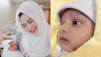 น้องเซนเซฟา ลูกไซร่า สาวมุสลิม คลอดแล้ว หล่อคม ดั้งโด่งตั้งแต่แรกเกิด!