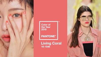 """คุมโทน """"Living Coral"""" หรือ """"สีส้มปะการัง"""" เทรนด์สีแห่งปี 2019 ของ Pantone"""