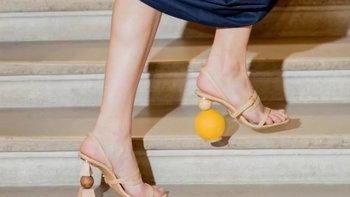 พาดูรองเท้าส้นกลม เเปลกสะดุดตาไม่ซ้ำใคร