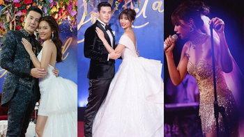 """""""เมทัล สุขขาว"""" เจ้าสาว """"โดม ปกรณ์ ลัม"""" กับ 5 ชุดแต่งงาน ที่สวยทุกลุค"""