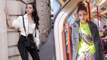 """ส่องแฟชั่นสุดชิค """"ฮาน่า-มุกดา"""" หลังสวยปัง ร่วมเดินแบบ แบรนด์ดังใน London Fashion Week"""