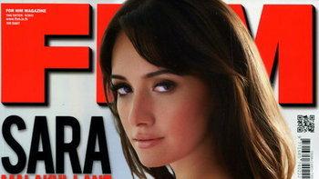 ใหญ่ล้นปก! ซาร่า มาลากุล เลน จัดเต็มในนิตยสาร FHM