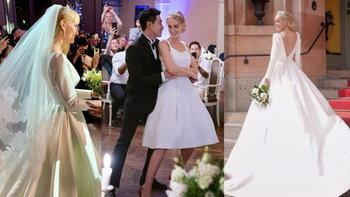 """4 ชุดแต่งงาน """"อาแมนด้า"""" เจ้าสาว """"บอย พิษณุ"""" มิดชิดทุกลุค แต่สวยเรียบหรูมาก"""
