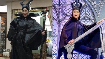 ทรงพระสเลนเดอร์ไม่เปลี่ยน! ทูลกระหม่อมหญิงอุบลรัตนฯ ฉลองพระองค์ในชุด Maleficent อีกครั้ง