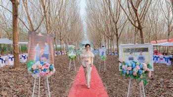 เจ้าสาวเผยความในใจ ที่มาเนรมิตสวนยาง ให้เป็นงานแต่งงานในฝัน