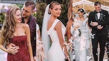 """ซูมชัดๆ ชุดแต่งงานนางงามที่สวยที่สุดในโลกปี 2017 """"เดมี ลีห์ เนล ปีเตอร์ส"""""""