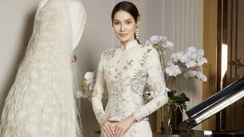"""""""พรฟ้า ปุณิกา"""" มิสยูนิเวิร์สไทยแลนด์ 2020 งดงามในชุดไทยราคากว่า 2 แสนบาท"""