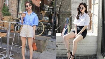 20 แฟชั่นเสื้อเชิ้ต+กางเกงขาสั้น แต่งยังไงให้ดูดี?!