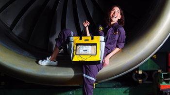 """""""การบินไทย"""" เอาใจสายแฟปล่อยกระเป๋าดีไซน์สุดเท่ ทำจากของใช้บนเครื่องบิน"""