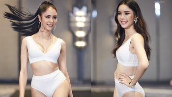 Miss Tiffany's Universe 2020 อวดความปังในชุดว่ายน้ำ ธีมสีขาว สวยเผ็ดมาก