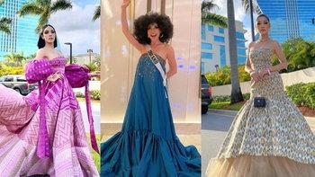 ส่องแฟชั่นแฟนนางงาม บินไปดู Miss Universe 2020 ถึงขอบเวที ปังไม่แพ้นางงาม