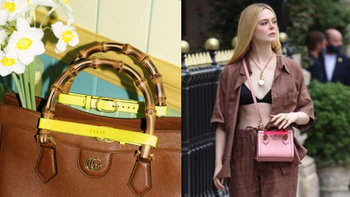 Gucci ปัดฝุ่นกระเป๋าหูจับไม้ไผ่ใบโปรดของเจ้าหญิงไดอาน่าด้วยดีไซน์แสนเปรี้ยว